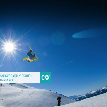 Lesiones en snowboard y esquí: evitarlas y tratarlas